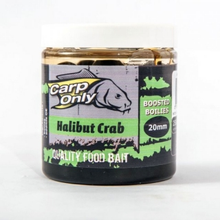 Dipovaný boilies Carp Only Halibut Crab 250ml