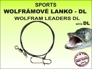 Sports wolframové lanko - DL 15kg