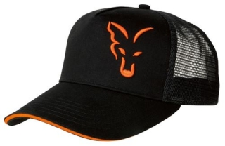 Fox Kšiltovka Black & Orange Trucker Cap